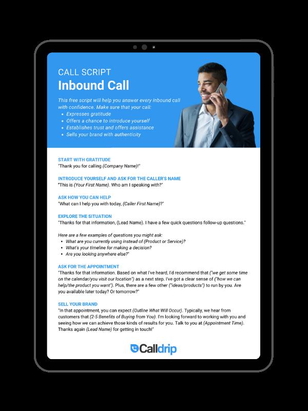 Inbound Call Script-2